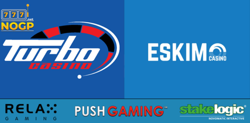 Eskimo- and Turbo Casino increase game range.
