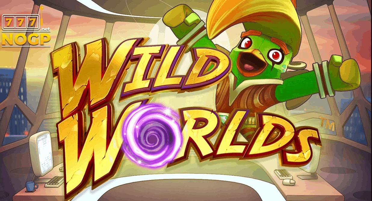 Wild Worlds slot logo