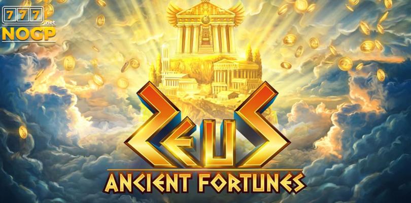 Ancient Fortunes: Zeus video slot logo