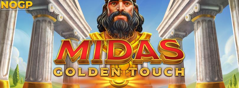 Midas Golden Touch video slot logo