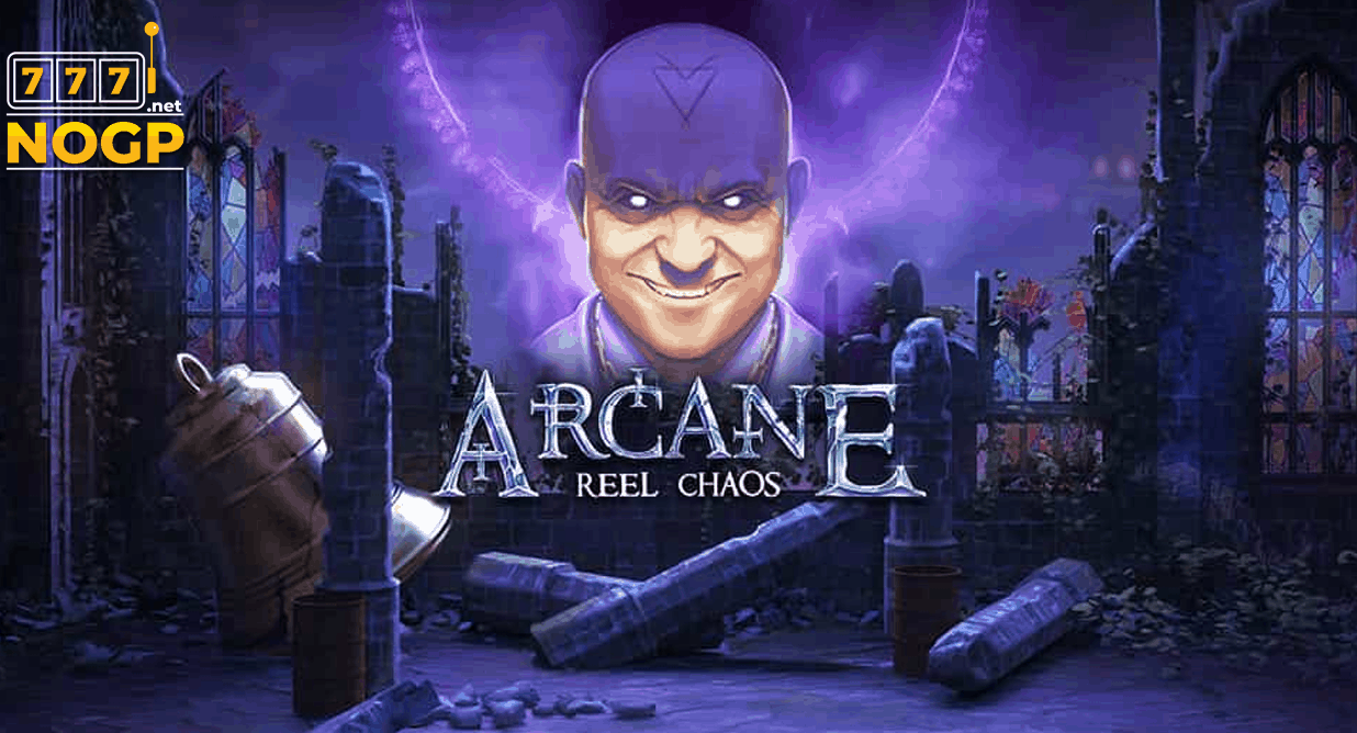 Arcane Reel Chaos video slot logo
