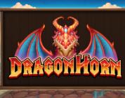 Thunderkick's Dragon Horn slot logo