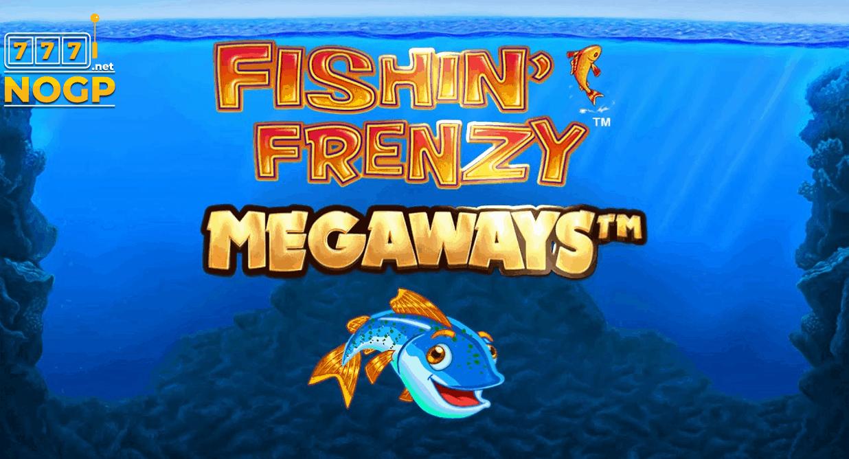 Fishin Frenzy Megaways slot logo