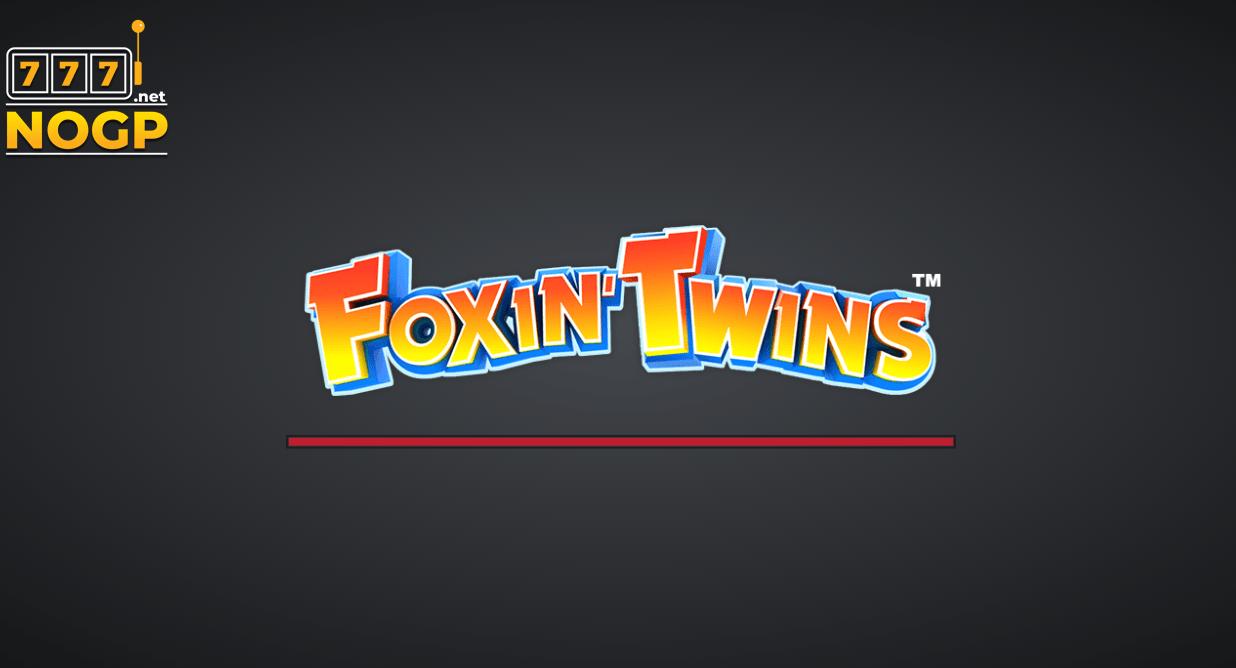 Foxin' Twins slot logo