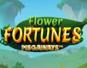 Flower Fortunes Megaways slot logo