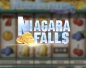 Niagara Falls video slot logo