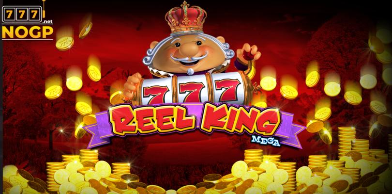 Reel King Mega video slot logo