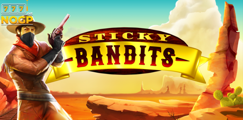 Sticky Bandits video slot logo