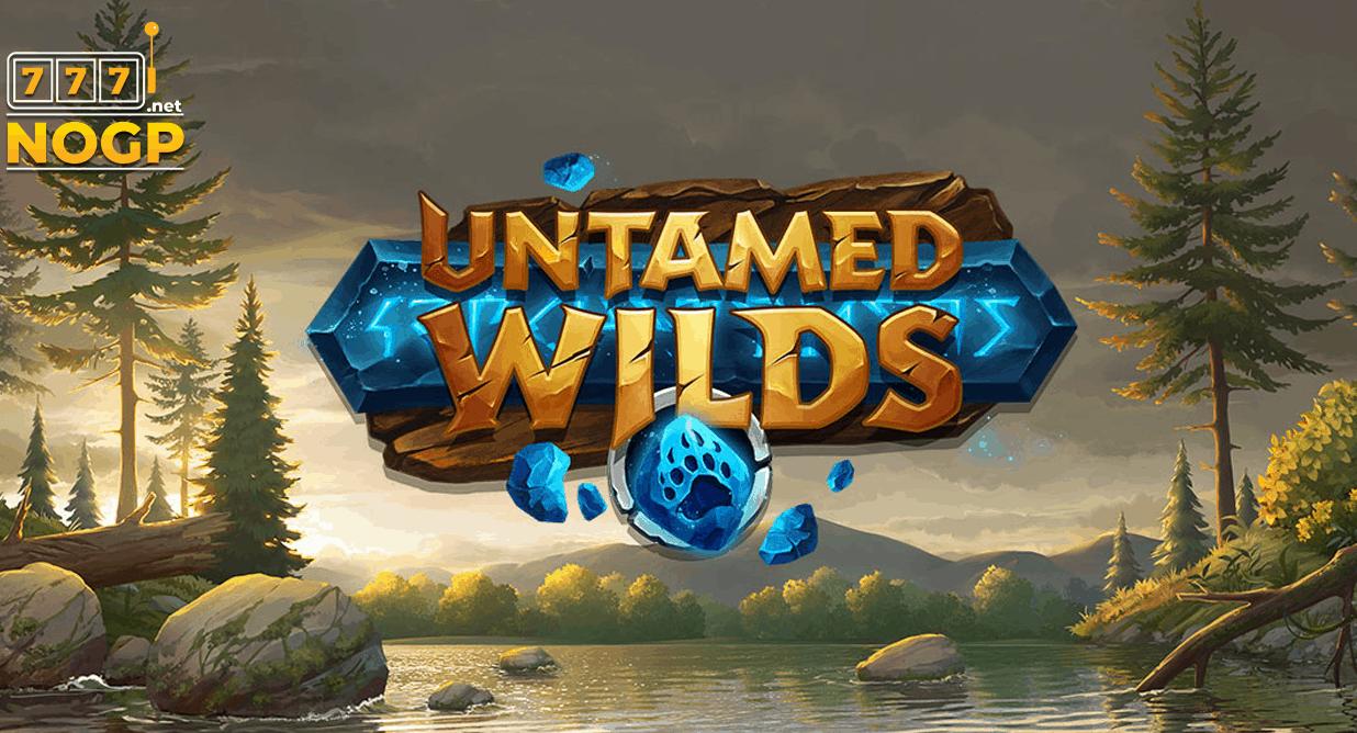 Untamed Wilds video slot logo