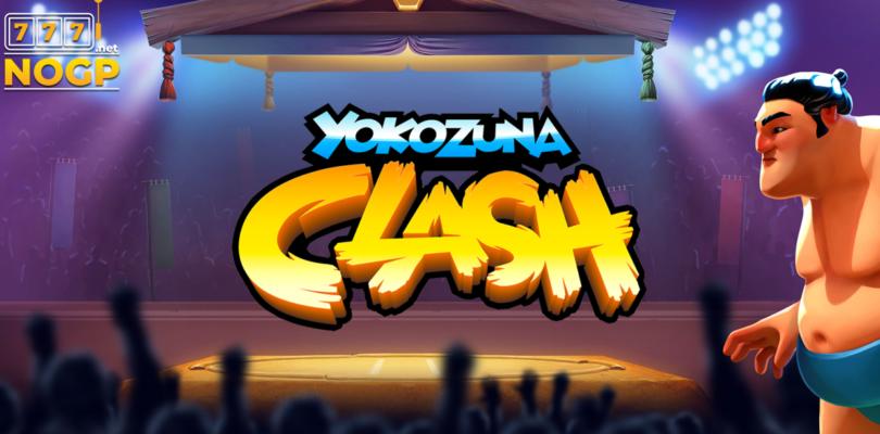 Yokozuna Clash video slot logo