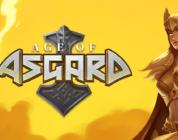 Age of Asgards video slot logo