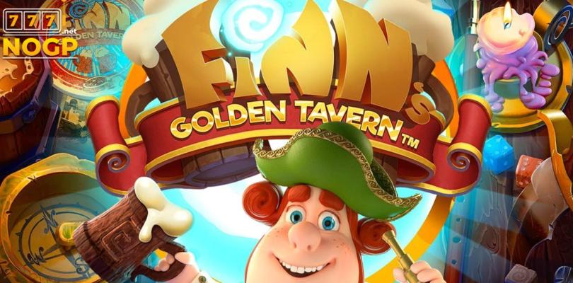 Finn's Golden Tavern video slot logo