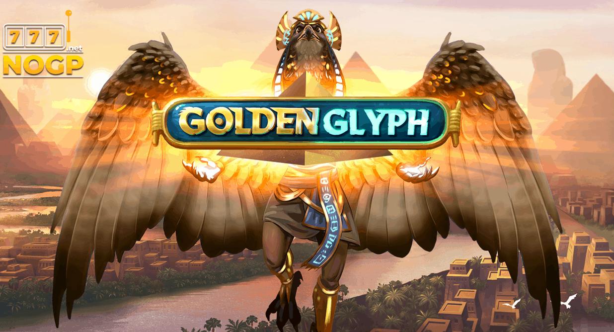 Golden Glyph video slot logo