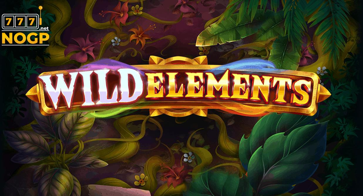 Wild Elements video slot logo