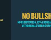 Lifetime 10% cashback at No Casino Account