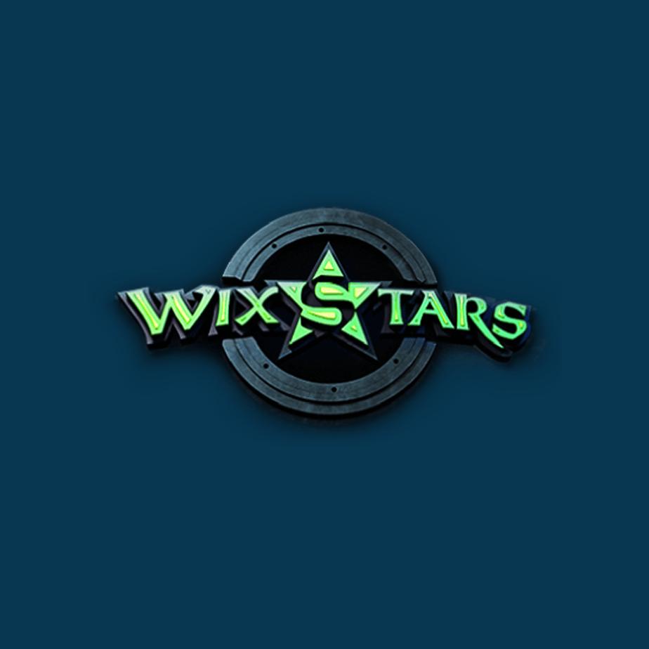 Wixstars logo diamond