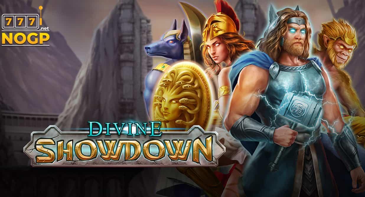Divine Showdown video slot logo