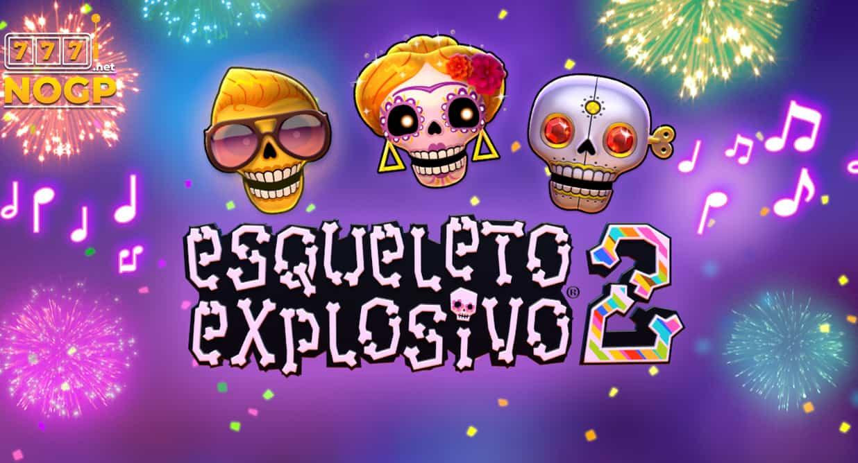 Esqueleto Explosivo 2 video slot logo
