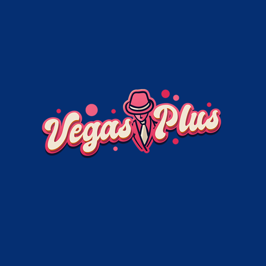 Vegas Plus logo blue diamond