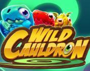 Wild Cauldron video slot logo