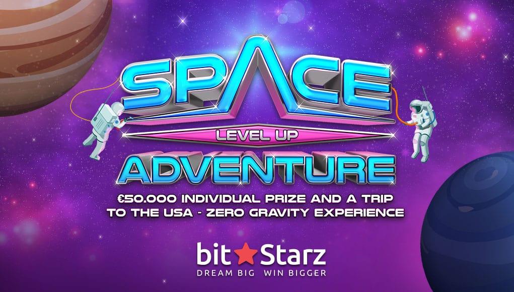 Win a Zero Gravity Experience and €50,000 at Bitstarz.