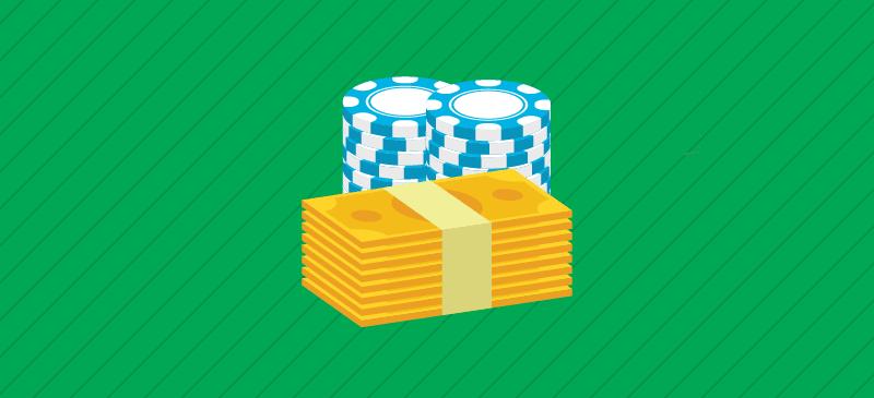 Casino bonuses of $/€1000 or more.