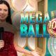 Mega Ball Live logo