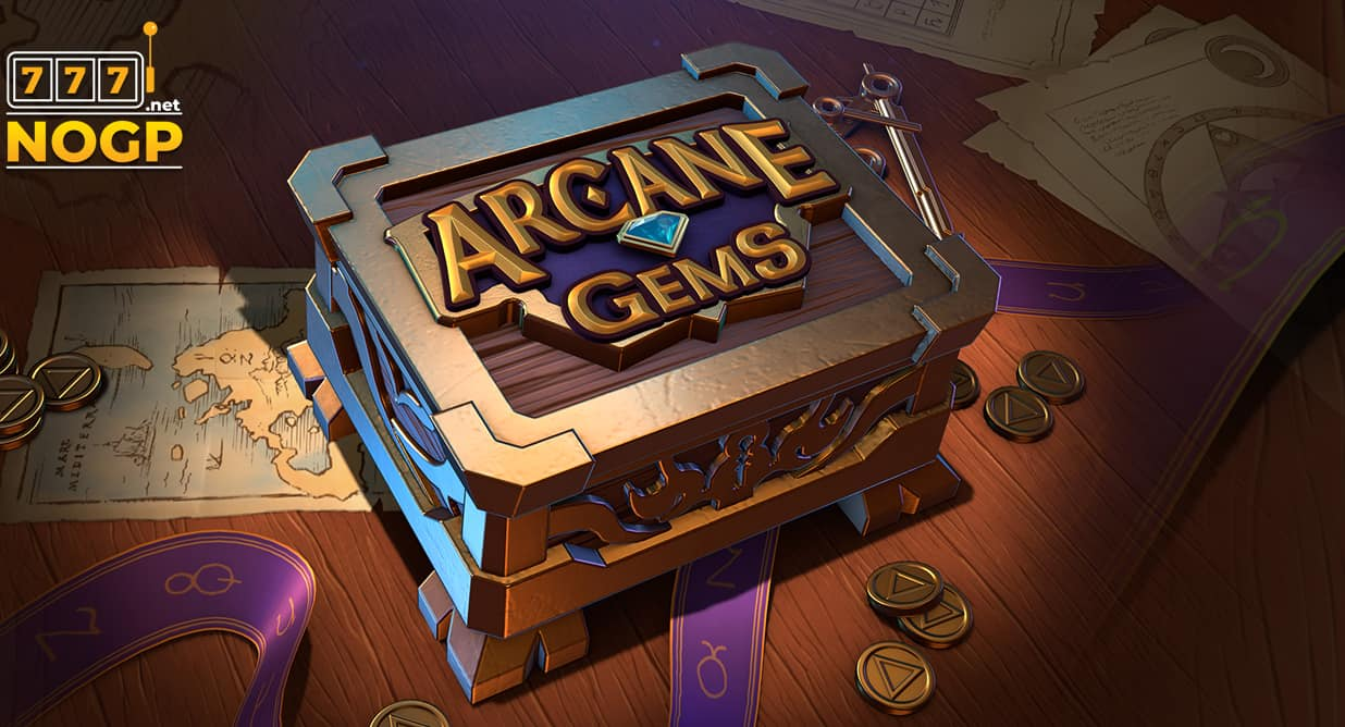 Arcane Gems video slot logo