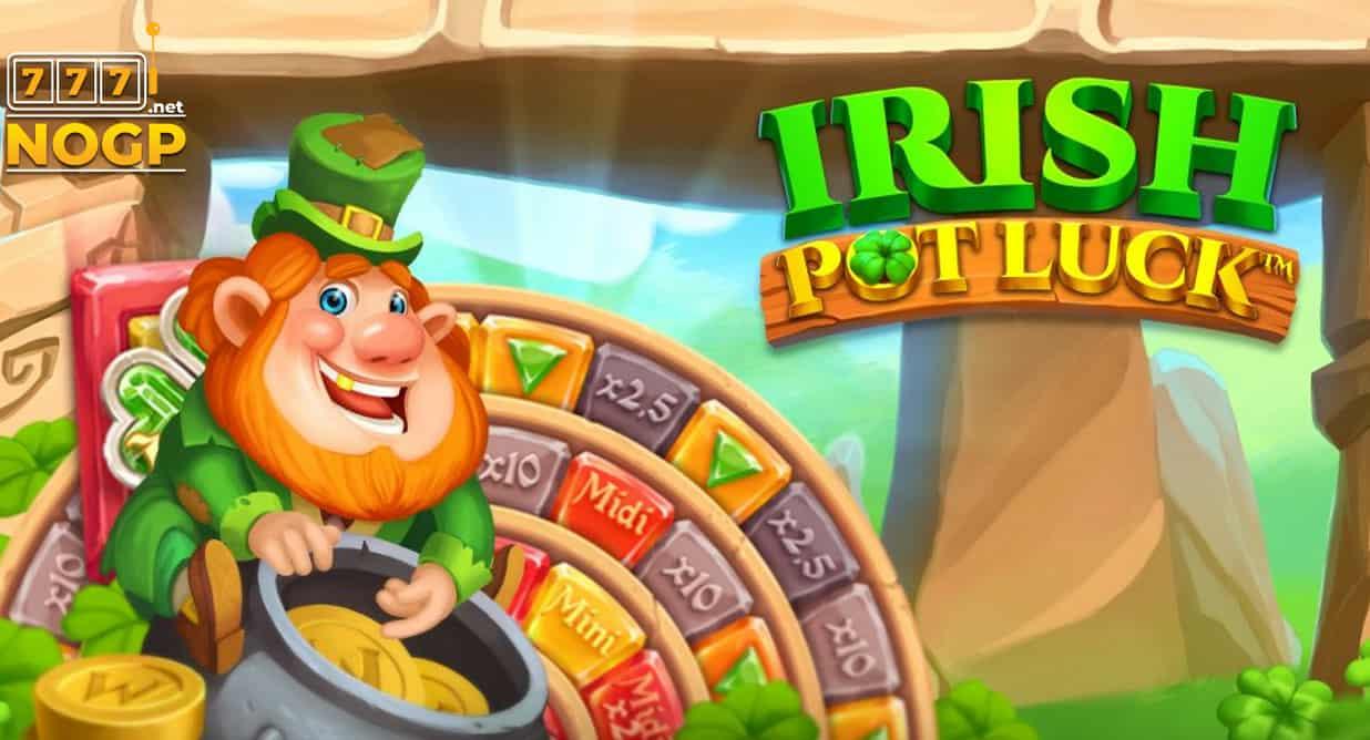 Irish Pot Luck video slot logo