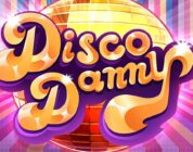 Disco Danny video slot logo