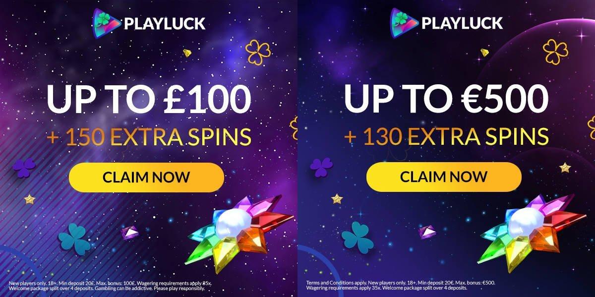 Get Extra Spins via Our NOGP Exclusive Bonus at Playluck Casino