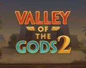 Valley of the Gods 2 video slot logo