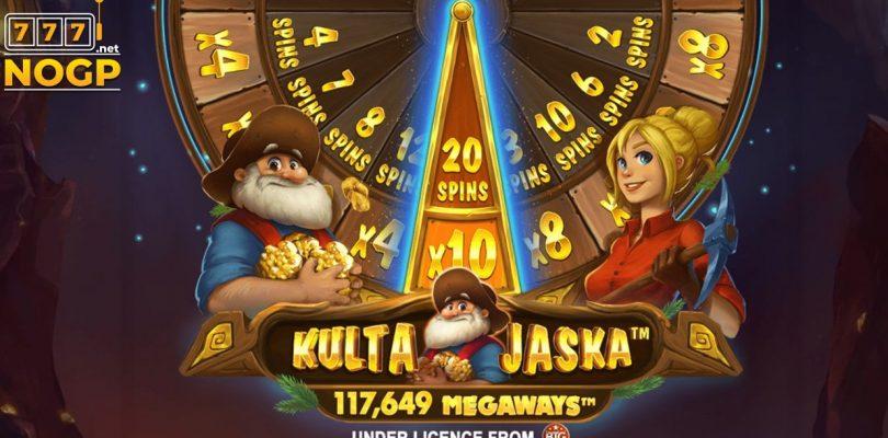 Kulta Jaska Megaways video slot logo