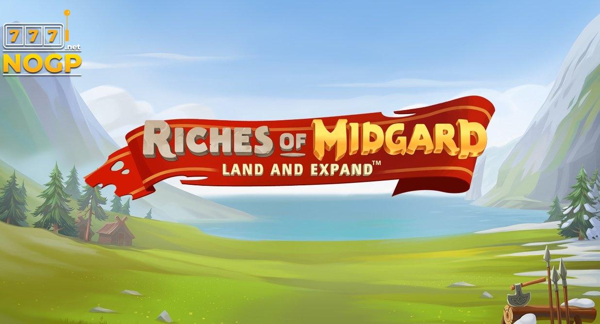 Riches of Midgard video slot logo