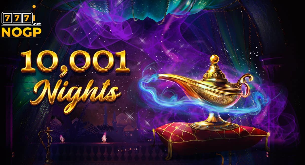 10,001 Nights video slot logo