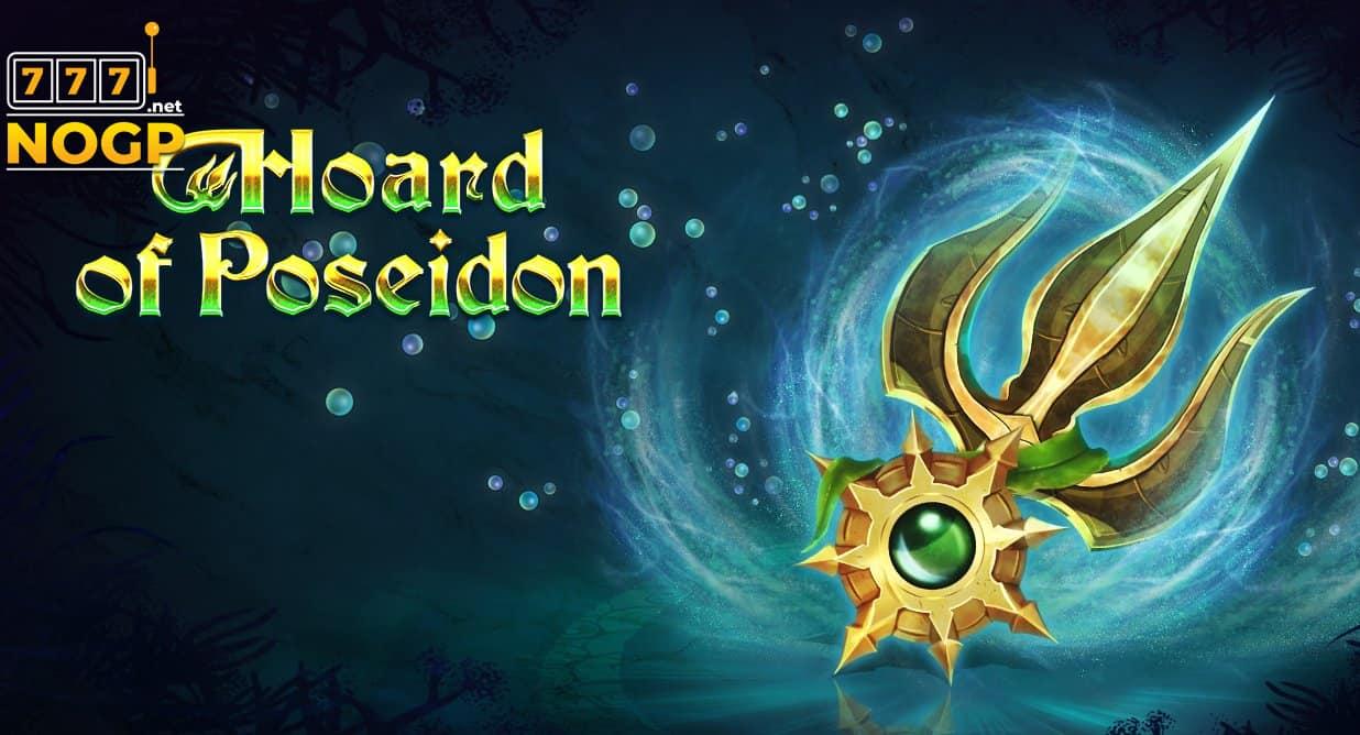 Hoard of Poseidon slot logo
