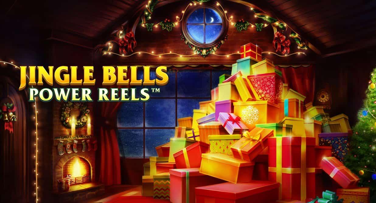 Jingle Bells Power Reels slot logo
