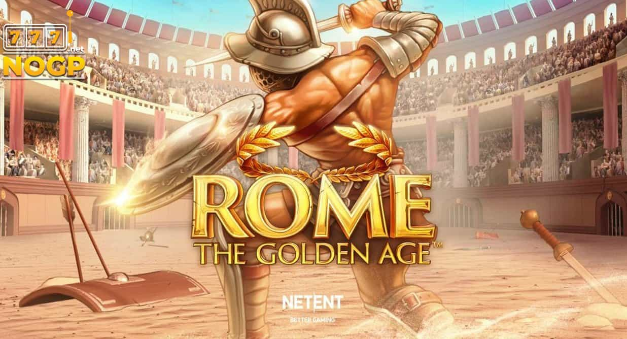 Rome The Golden Age video slot logo