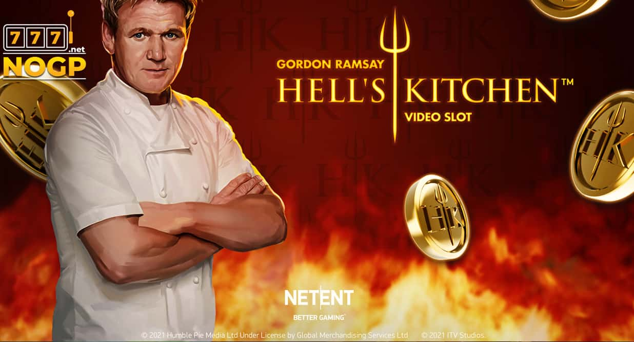 Gordon Ramsay Hells Kitchen video slot logo