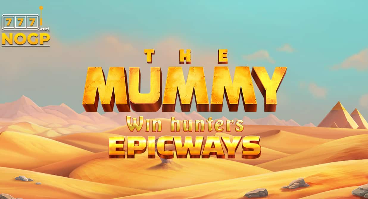 The Mummy Win Hunters Epicways slot logo