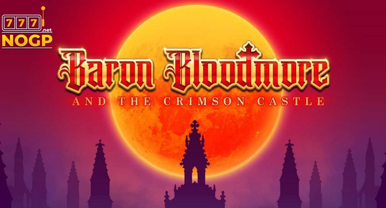 Baron Bloodmore and the Crimson Castle video slot logo