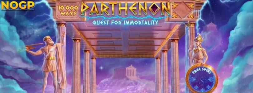 Parthenon Quest of Immortal video slot logo