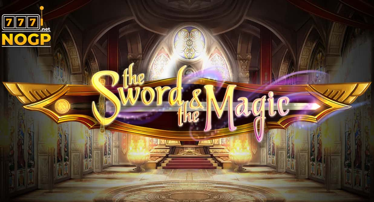 The Sword and the Magic slot logo