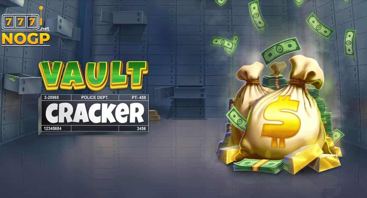 Vault Cracker video slot logo