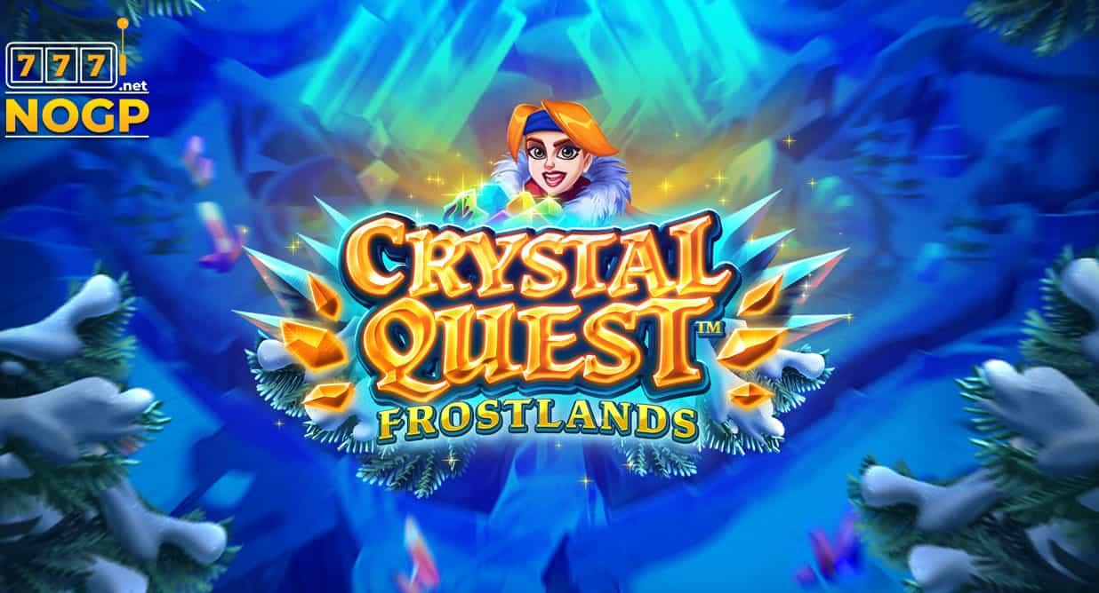 Crystal Quest video slot logo