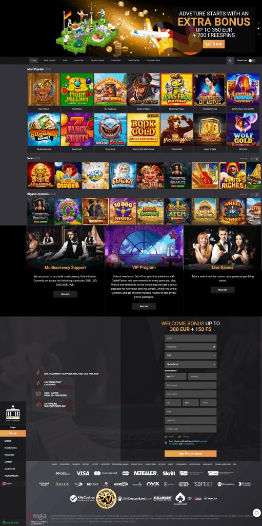 Dasist Casino screenshot