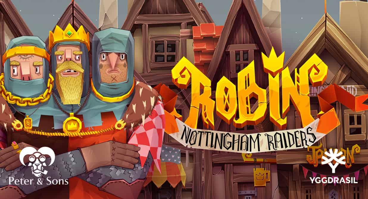 Robin Nottingham Raiders slot logo