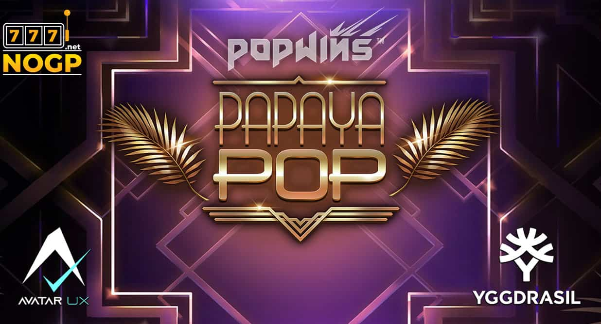 PapayaPop video slot logo