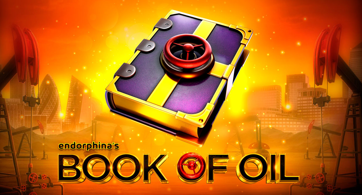Book of Oil video slot logo
